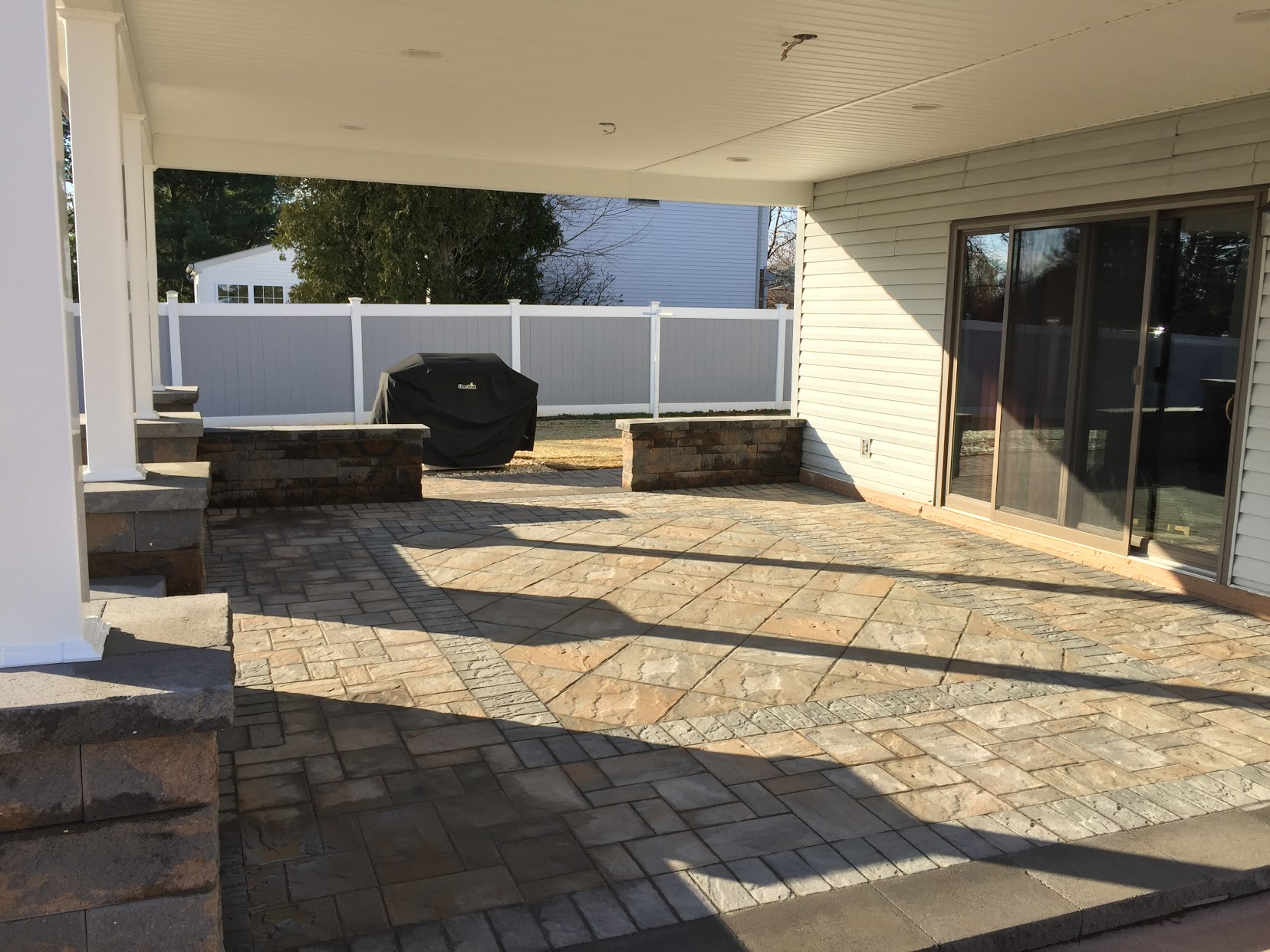 Side View Patio Upgrade